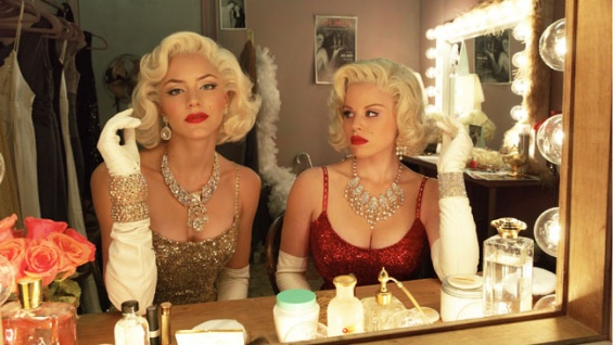 I'm kind of sad that the play isn't just Dueling Marilyns, to be honest.