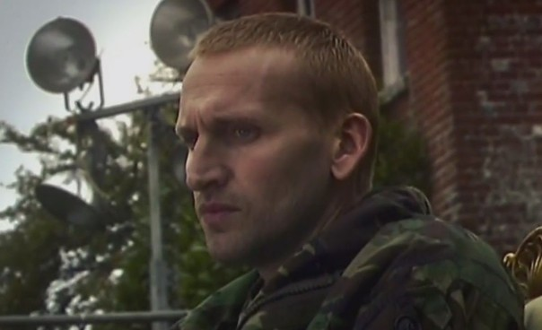 Oh, ginger Christopher Eccleston, I love you but you are NOT NICE TO LADIES.