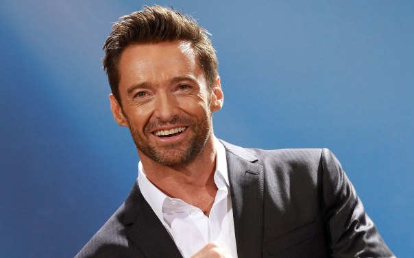 The role of a REAL MAN will be played by Hugh Jackman today DON'T EVEN SAY IT YOU GUYS JUST DON'T EVEN BRING THAT UP.