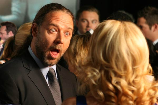 "This is the first image that comes up when you Google ""drunk Russell Crowe."" If you were wondering."